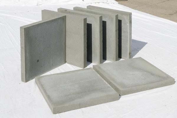 Gehwegplatte Hacon Betonwerke - Betonplatten 40x40x5 grau